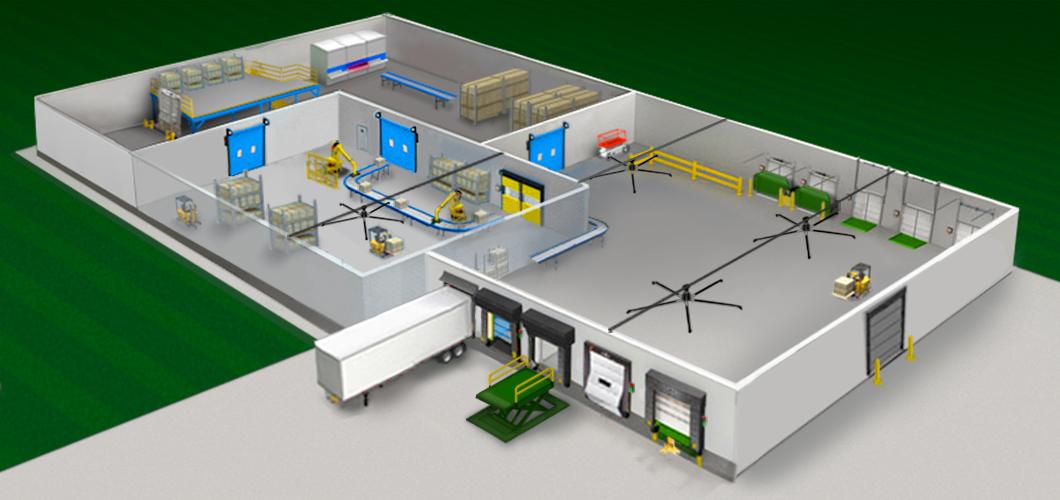 Curlin Material Handling Systems Integration Conveyors
